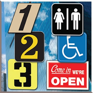 Commercial Letters-Numbers-Signs