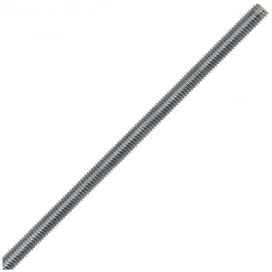 """7/8""""-9 x 6' 316 Stainless Steel Threaded Rod 6 Foot-UNC"""