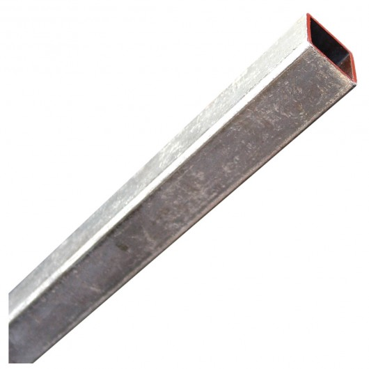 """1"""" x 3' Steel Square Tubing Zinc Plated"""