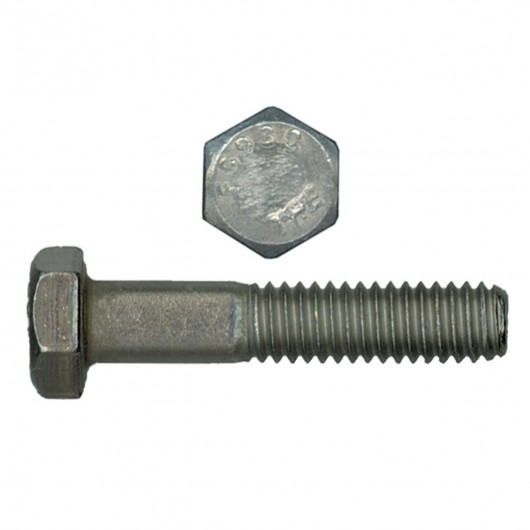 """1""""-8 x 3-3/4"""" 18.8 Stainless Steel Hex Bolt - UNC"""