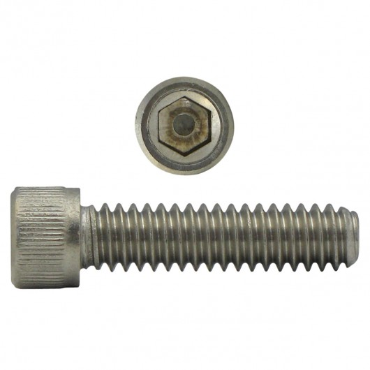 "2-56 x 3/8"" 18.8 Stainless Steel Socket Head Cap Screw-UNC"