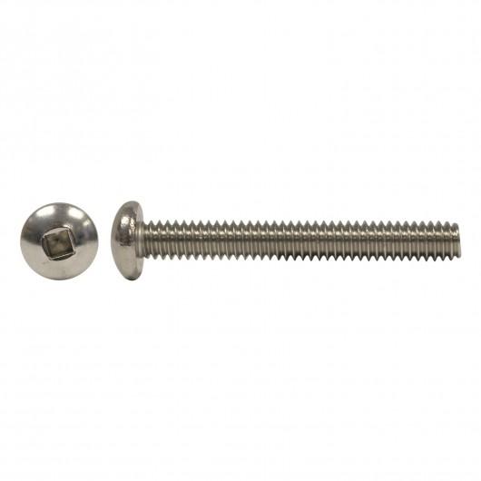 "10-32 x 1/2"" 18.8 Stainless Steel Round Head Socket Machine Screw"