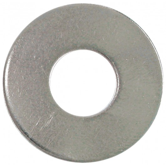 """No.6 (1/8"""" B.S.) 18.8 Stainless Steel Flat Washer"""