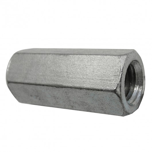 """5/16""""-18 18.8 Stainless Steel Coupling Nut"""