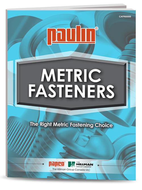 Flyer 2021 Paulin Metric Product Catalogue