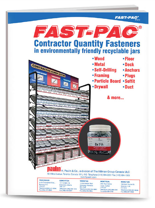 P810 Fast-Pac® Contractor Quality Fasteners